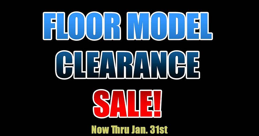 Floor Model Clearance Sale Specials Page